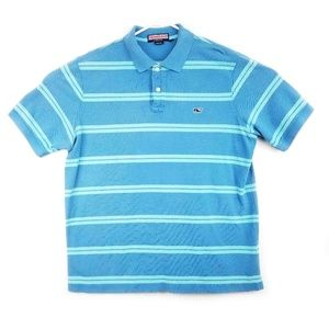 Vineyard Vines Polo Shirt Adult Large Blue